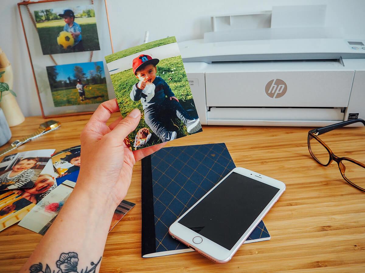 Avoir ses souvenirs sur papier avec l'imprimante DeskJet 3720