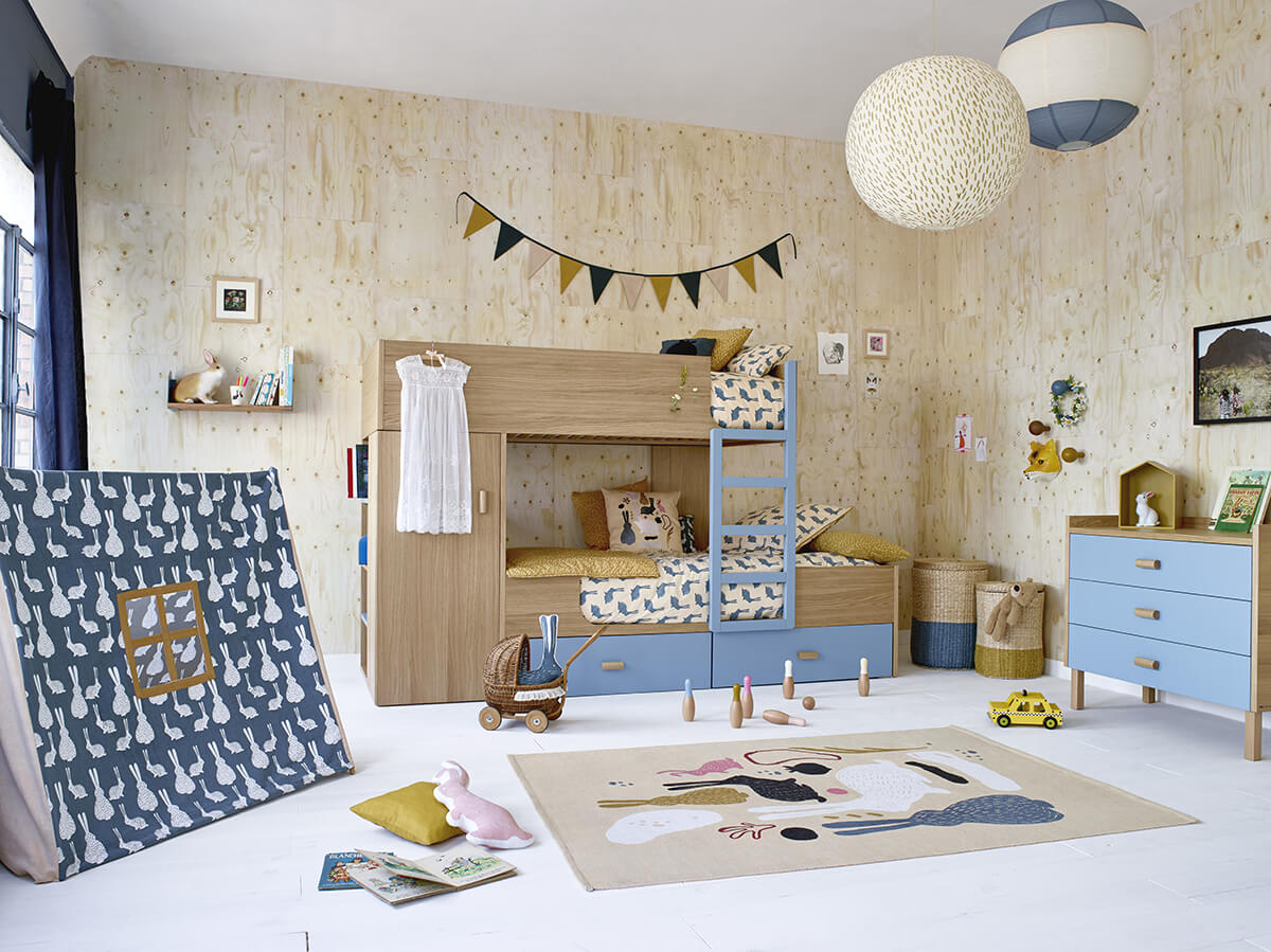 la collection pour enfants milk x habitat frenchy fancy. Black Bedroom Furniture Sets. Home Design Ideas