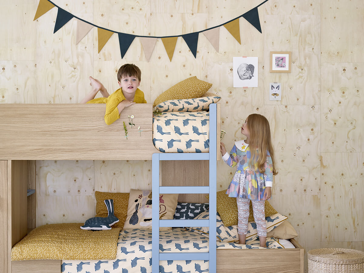 La collection pour enfants Milk x Habitat
