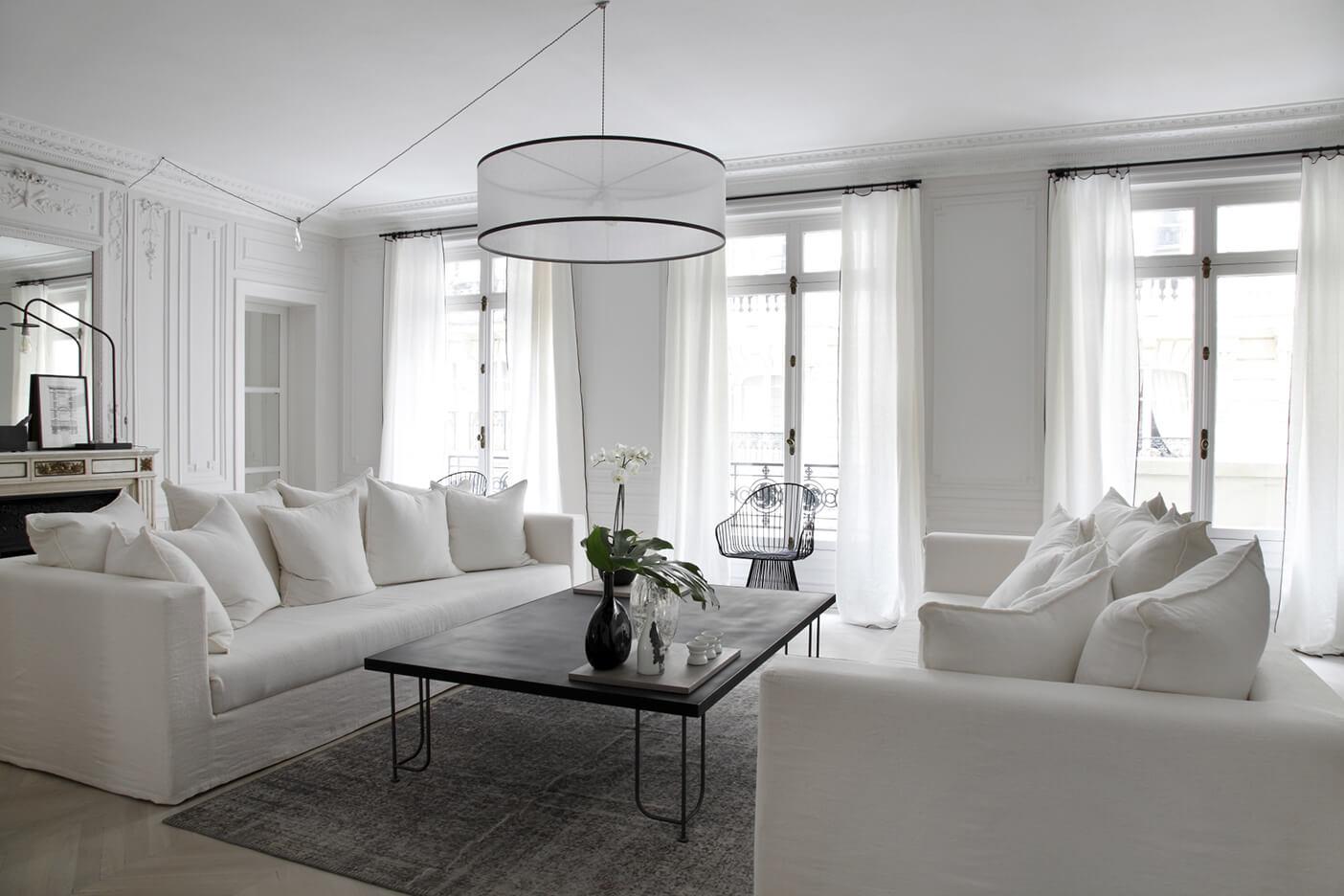 Salon intérieur parisien