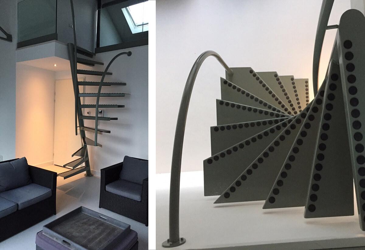 Installer un escalier dans un petit espace frenchy fancy for Petit escalier 4 marches