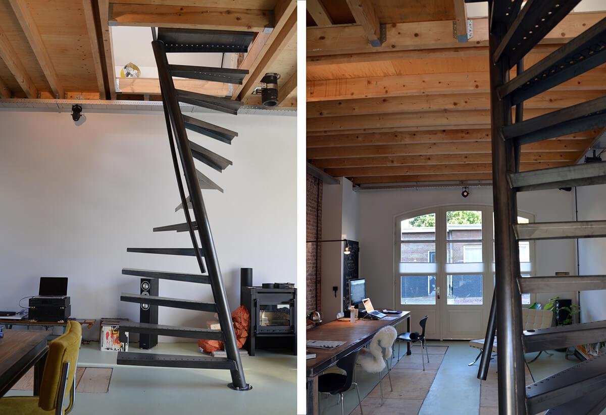 Installer un escalier dans un petit espace frenchy fancy for Amenagement escalier interieur