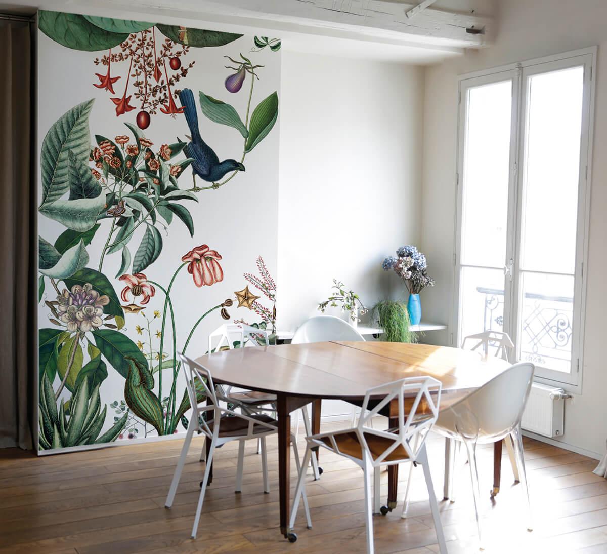 bahamas le nouveau papier peint floral sign bien fait frenchy fancy. Black Bedroom Furniture Sets. Home Design Ideas