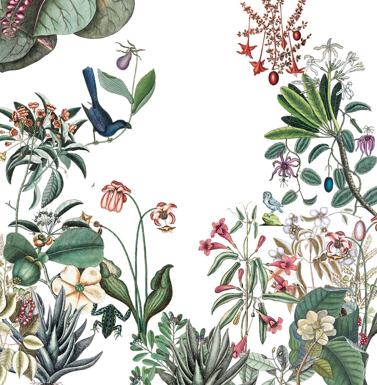bahamas le nouveau papier peint floral sign bien fait frenchyfancy frenchy fancy. Black Bedroom Furniture Sets. Home Design Ideas