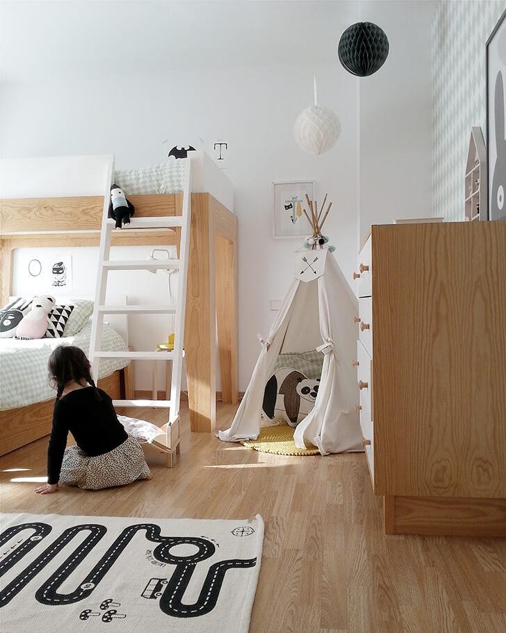 comment am nager une chambre pour deux enfants. Black Bedroom Furniture Sets. Home Design Ideas