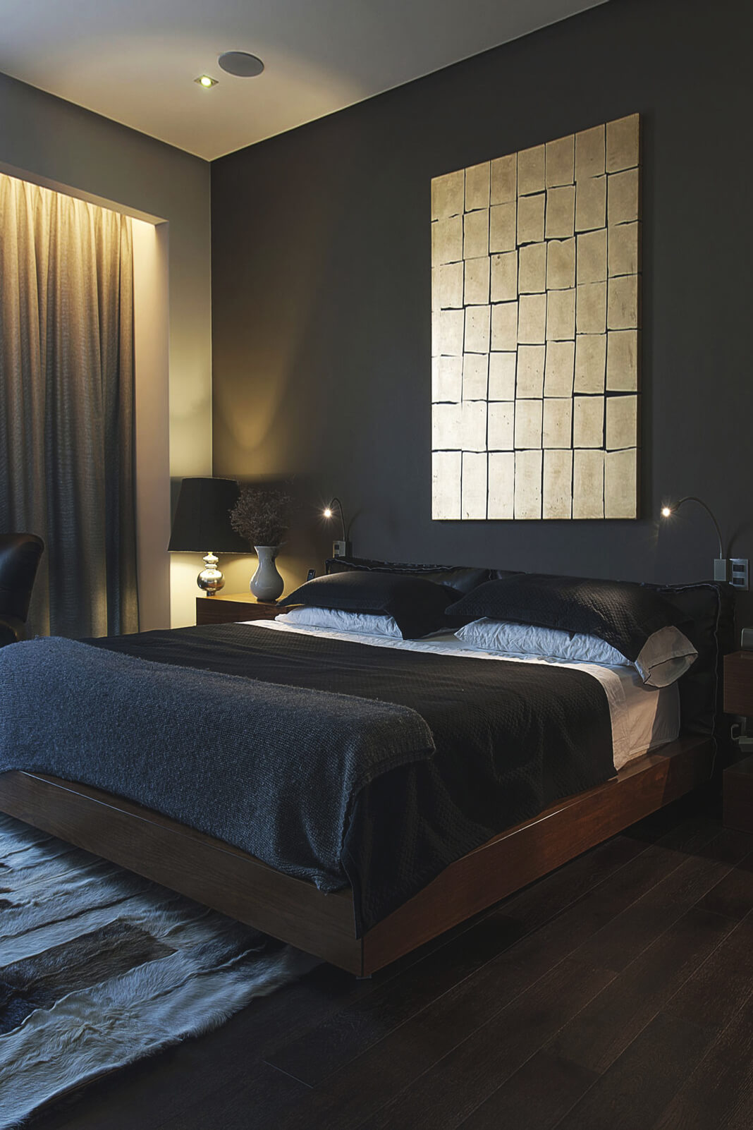 10 chambres inspirantes aux tonalit s masculines frenchy for Chambre in french