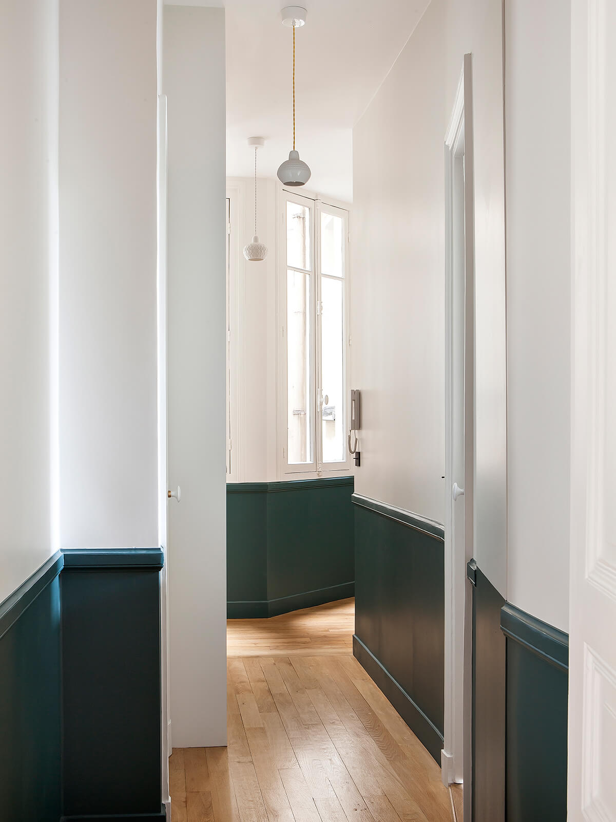 Un appartement Haussmannien haut en couleurs