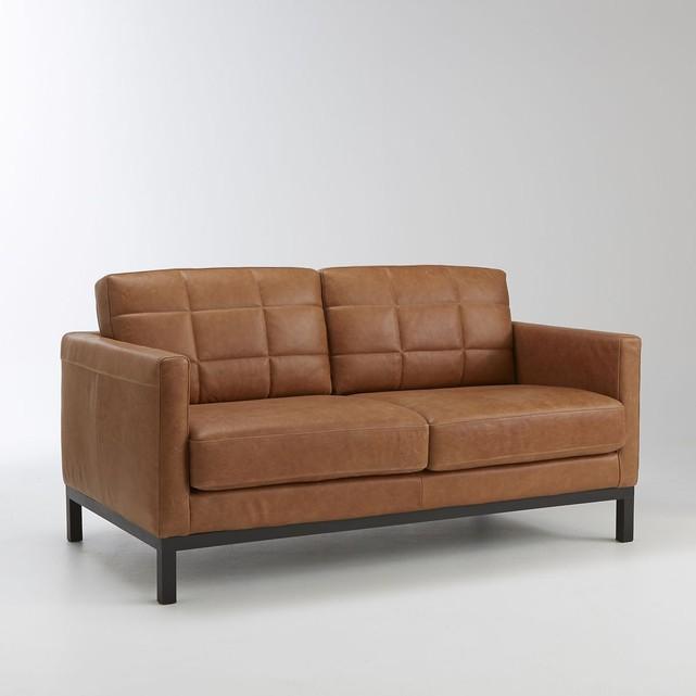 Et pourquoi pas un canapé en cuir camel ? - FrenchyFancy