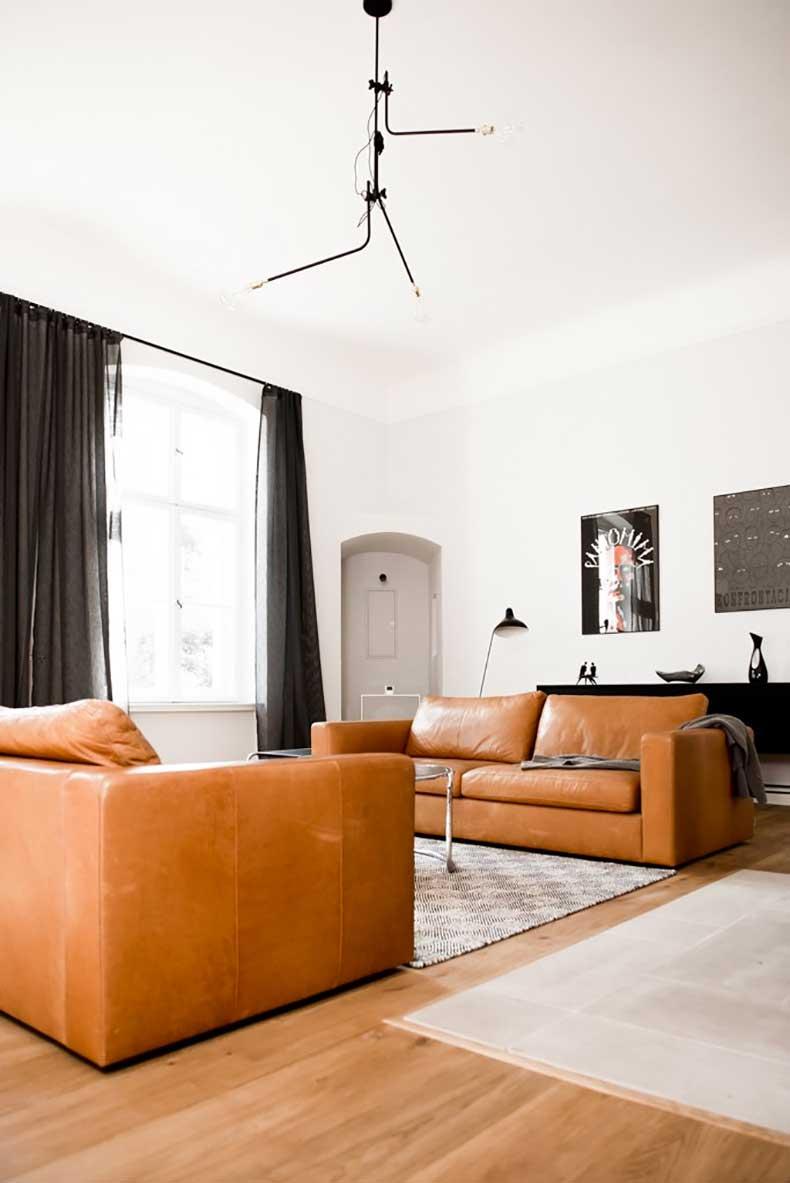Aménager un salon avec deux canapés