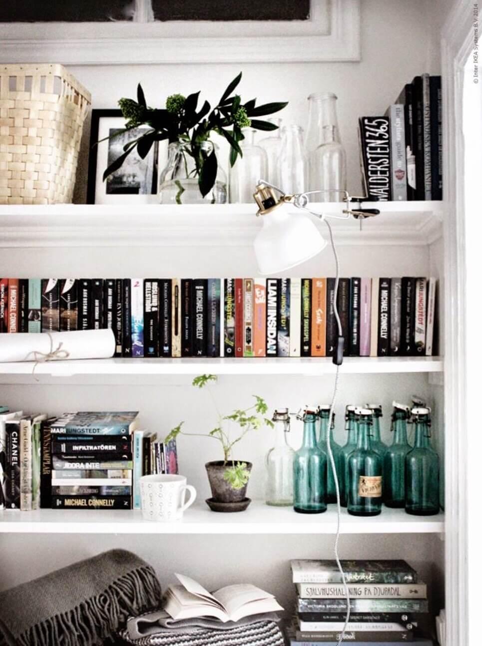 10 idées pour décorer avec des livres