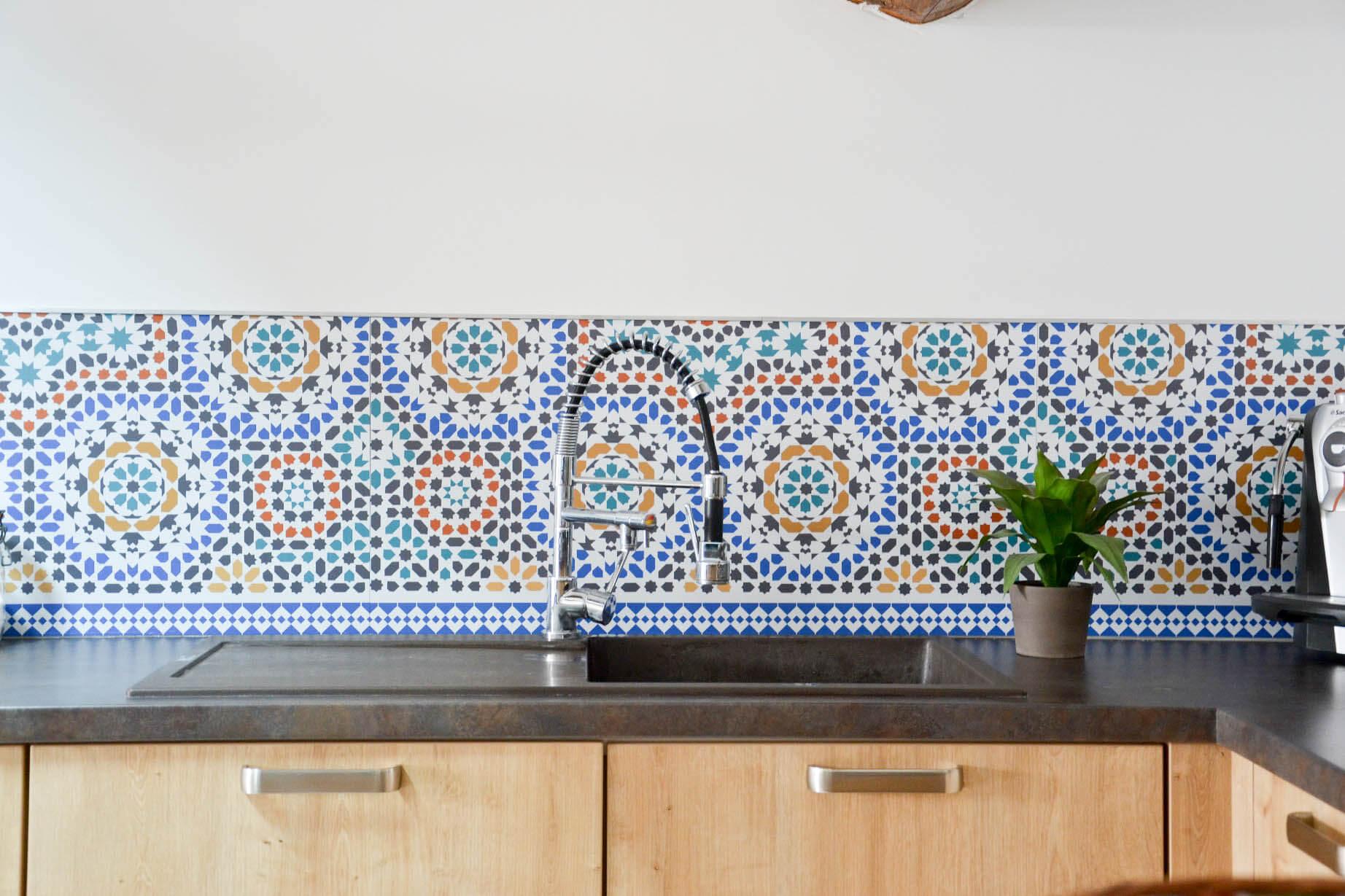 Crédence Effet Carreau De Ciment personnalisez votre intérieur avec audella - frenchy fancy
