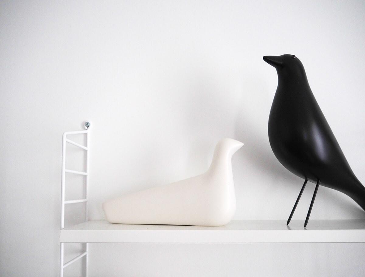 Oiseau Eames et Bouroullec chez Vitra