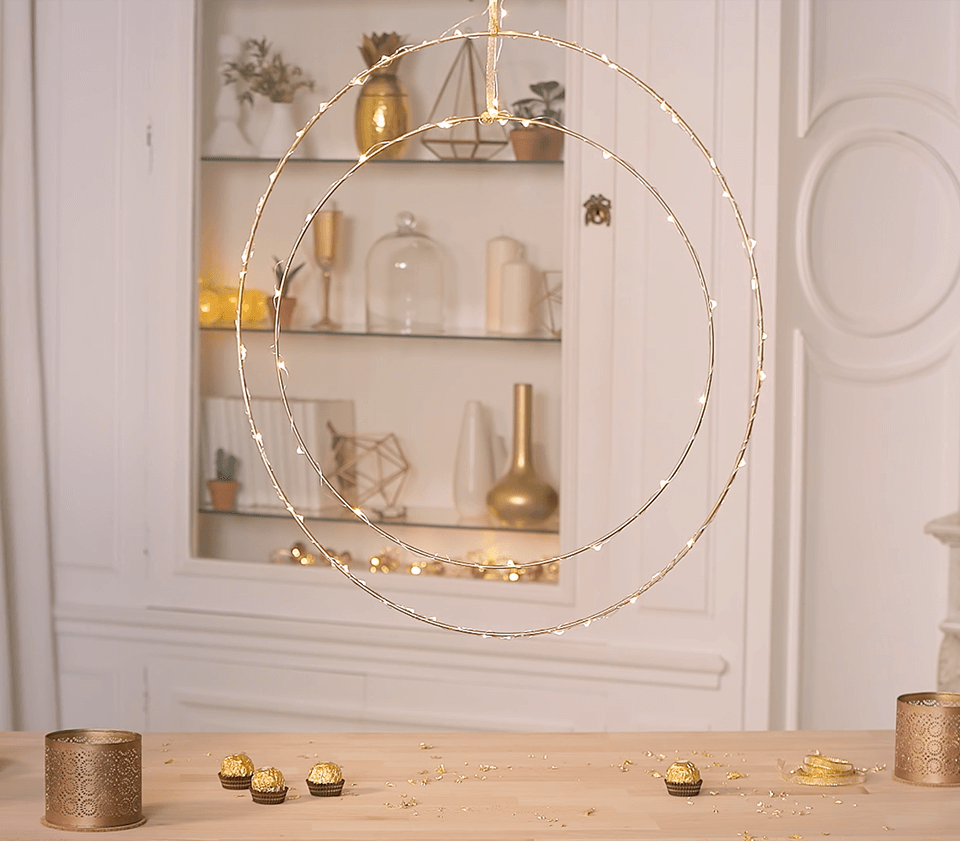 DIY : les cercles lumineux - FrenchyFancy