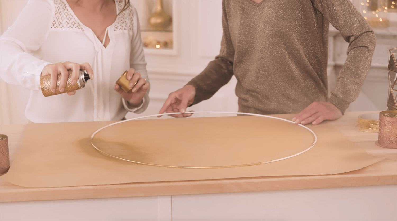 DIY : les cercles lumineux