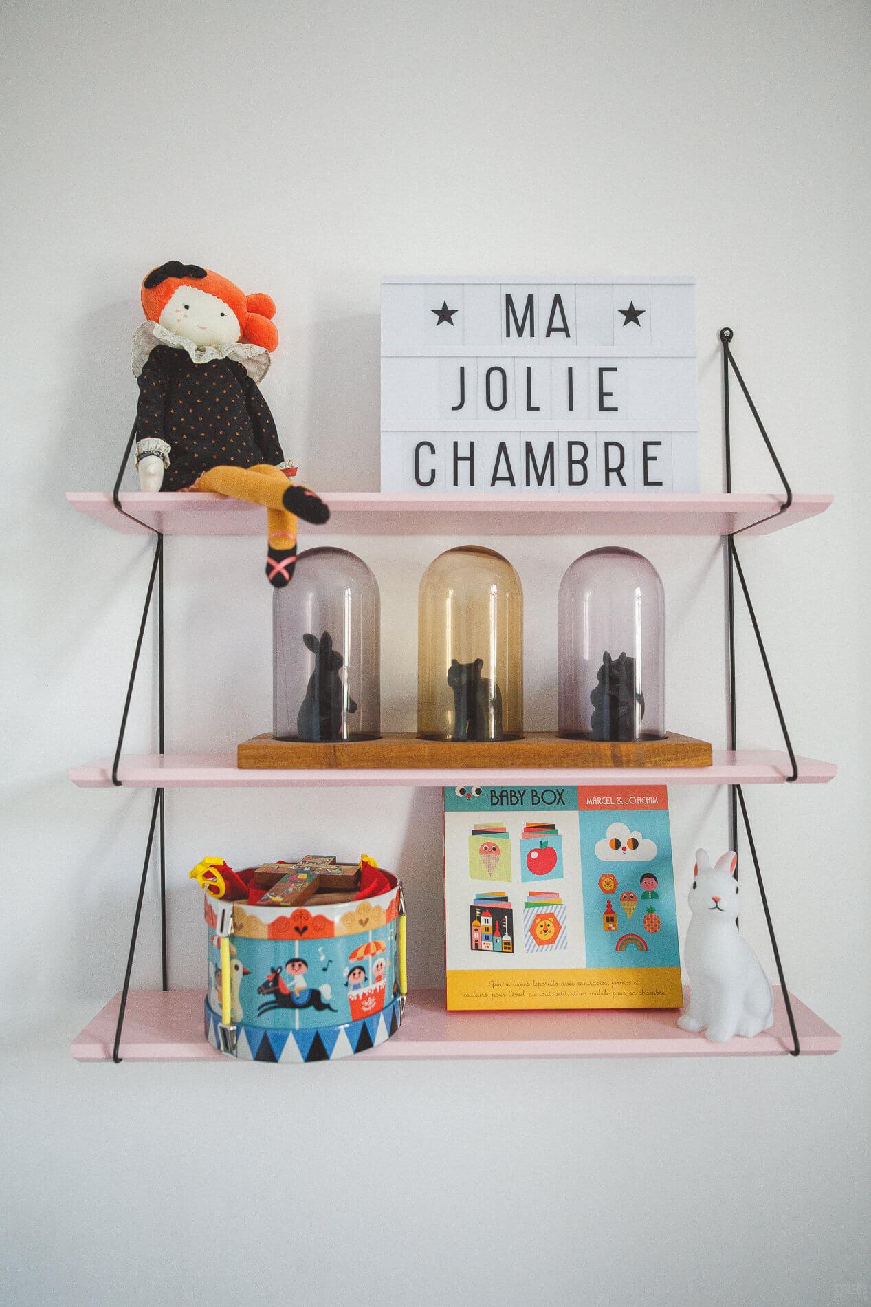 La jolie chambre vintage de Constance - Frenchy Fancy