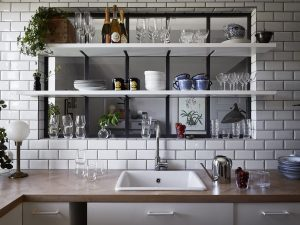 Une niche vitrée dans la cuisine