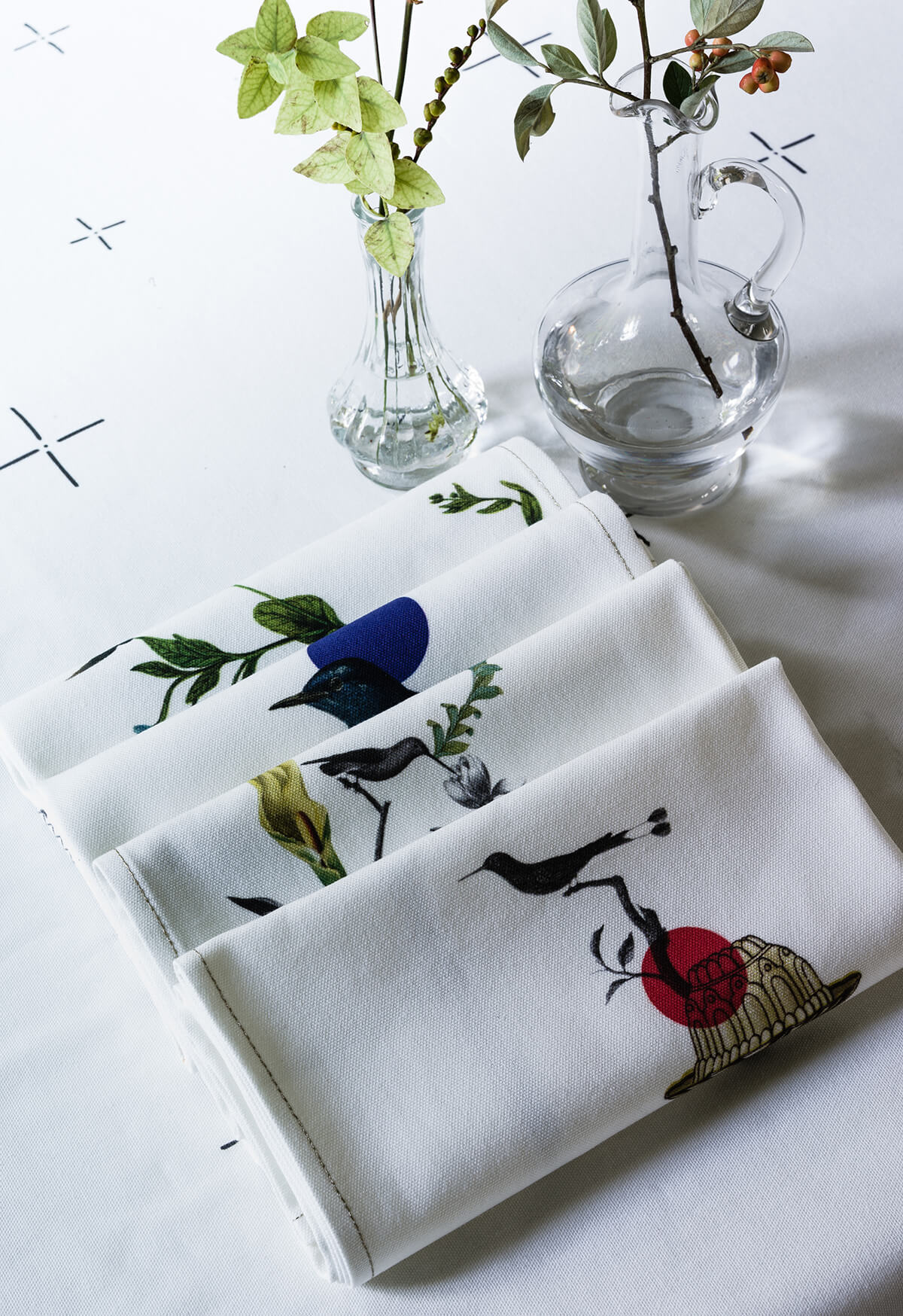 La redoute int rieurs x sam baron frenchy fancy for La redoute linge de table