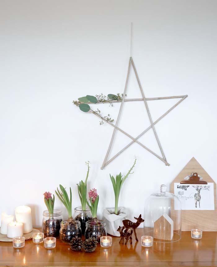 DIY étoile de Noël