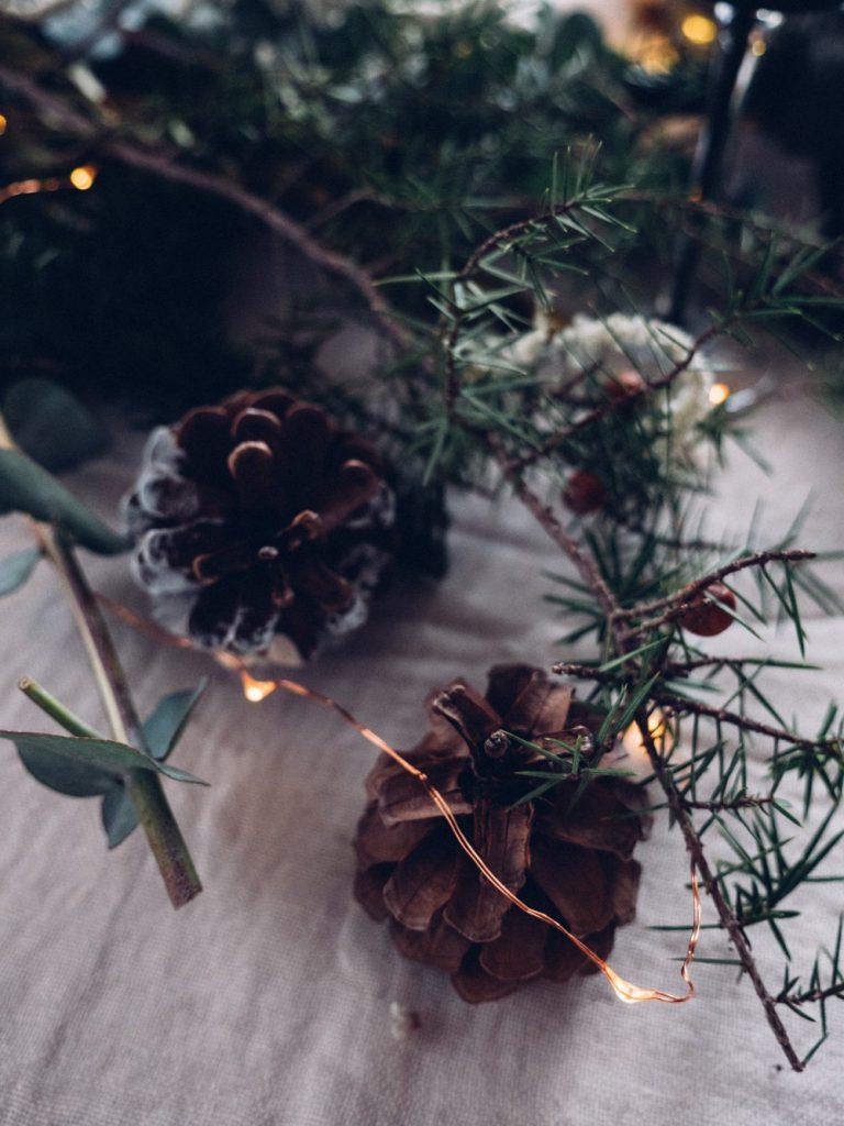 Décorer son intérieur pour Noël, les inspirations kinfolk d'Aurélie