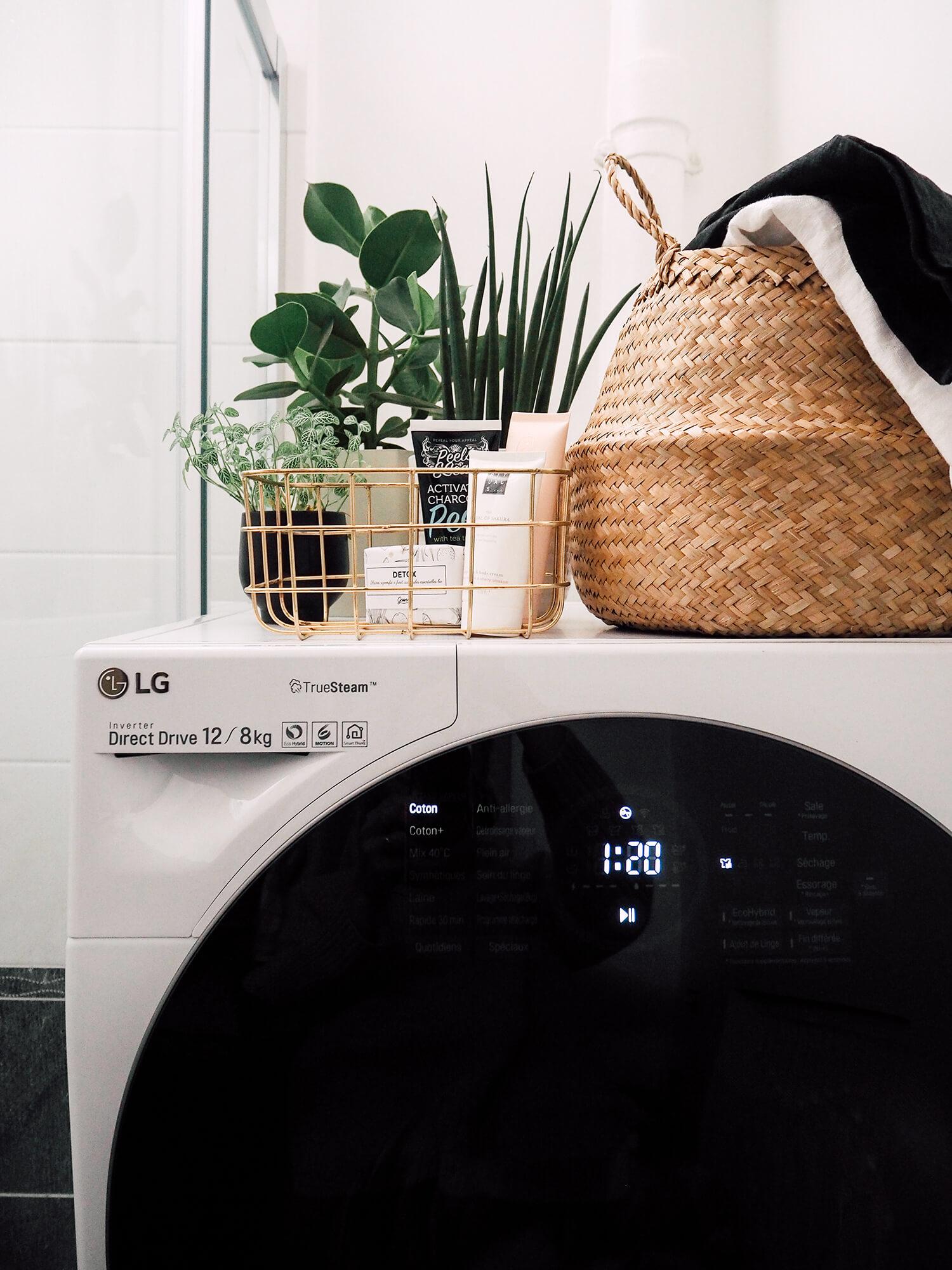Le lave-linge TWINWash LG, quand l'utile devient beau