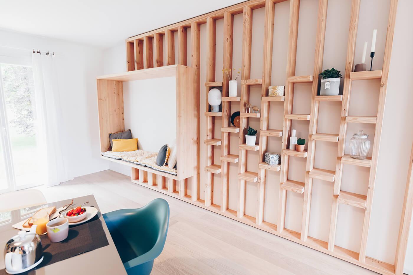 la maison d 39 inspiration nordique d 39 adeline nantes. Black Bedroom Furniture Sets. Home Design Ideas