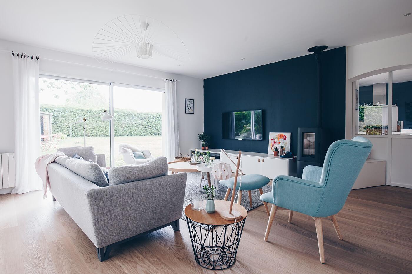 Rénovation / la maison d'inspiration scandinave d'Adeline - FrenchyFancy