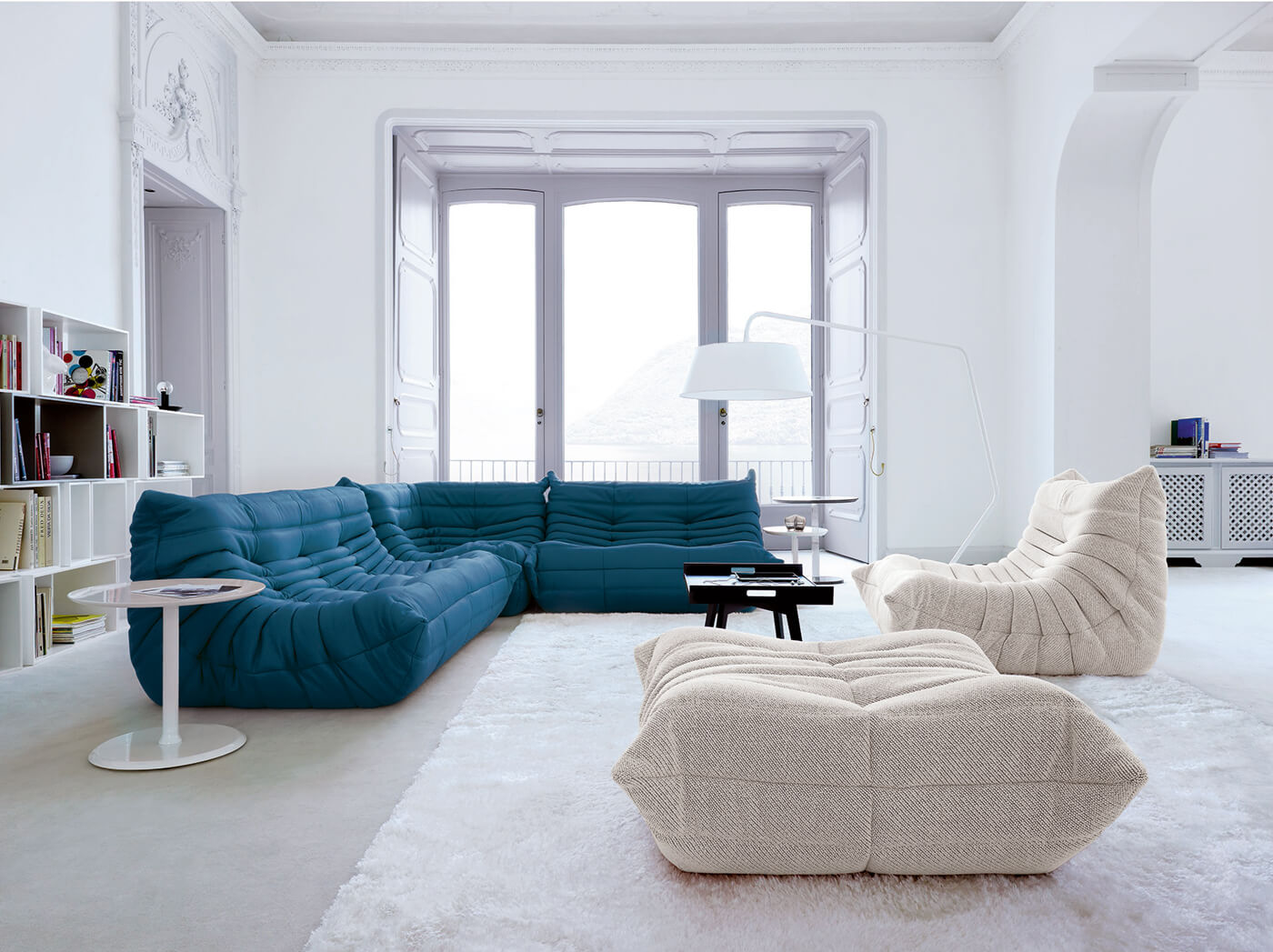 L 39 inimitable canap togo de chez ligne roset frenchy fancy for Salon togo ligne roset