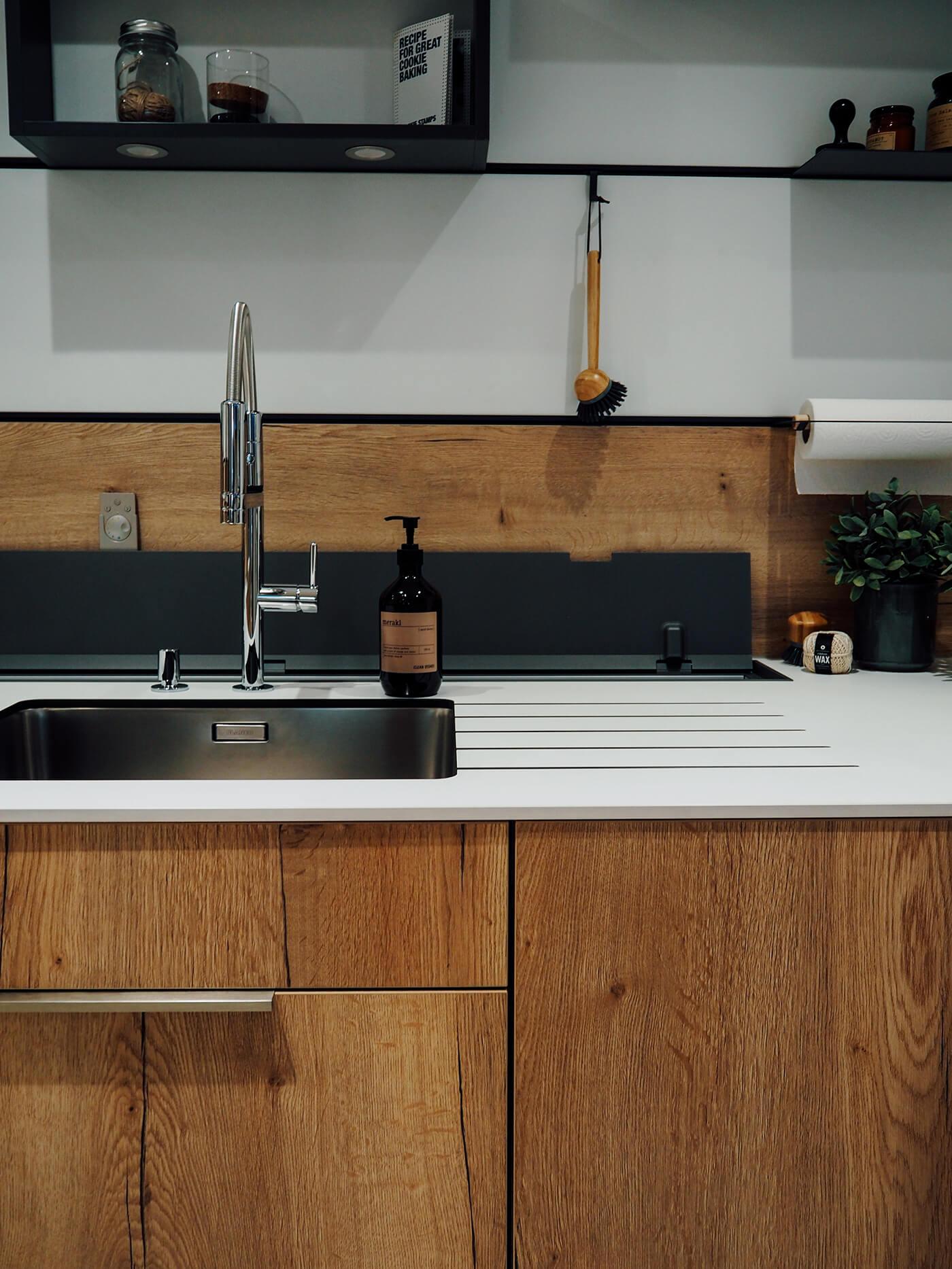 mobalpa plan de travail plan de travail oxyde cuivre table repas chne sierra poigne philia. Black Bedroom Furniture Sets. Home Design Ideas