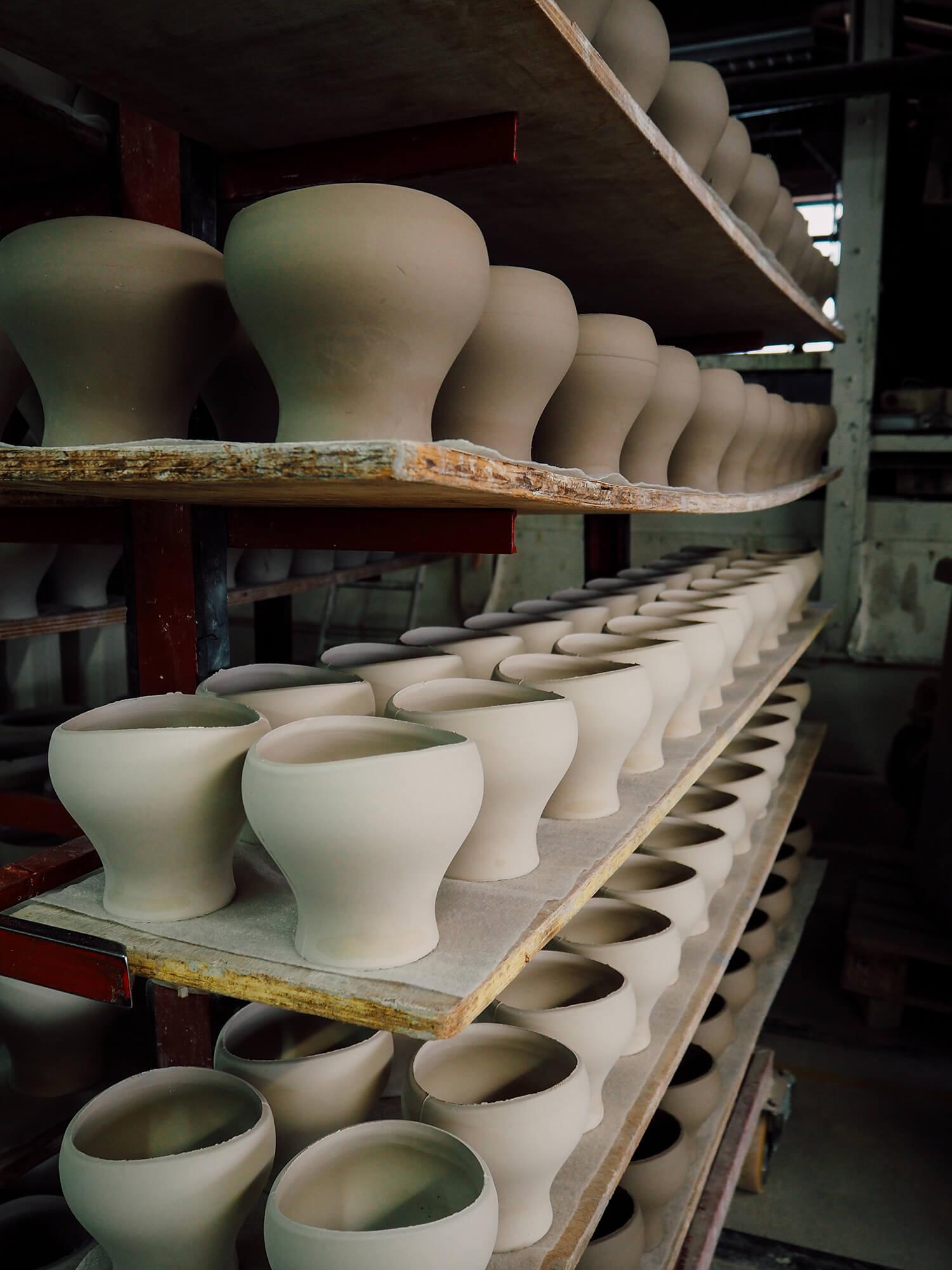 Manufacture de céramiques
