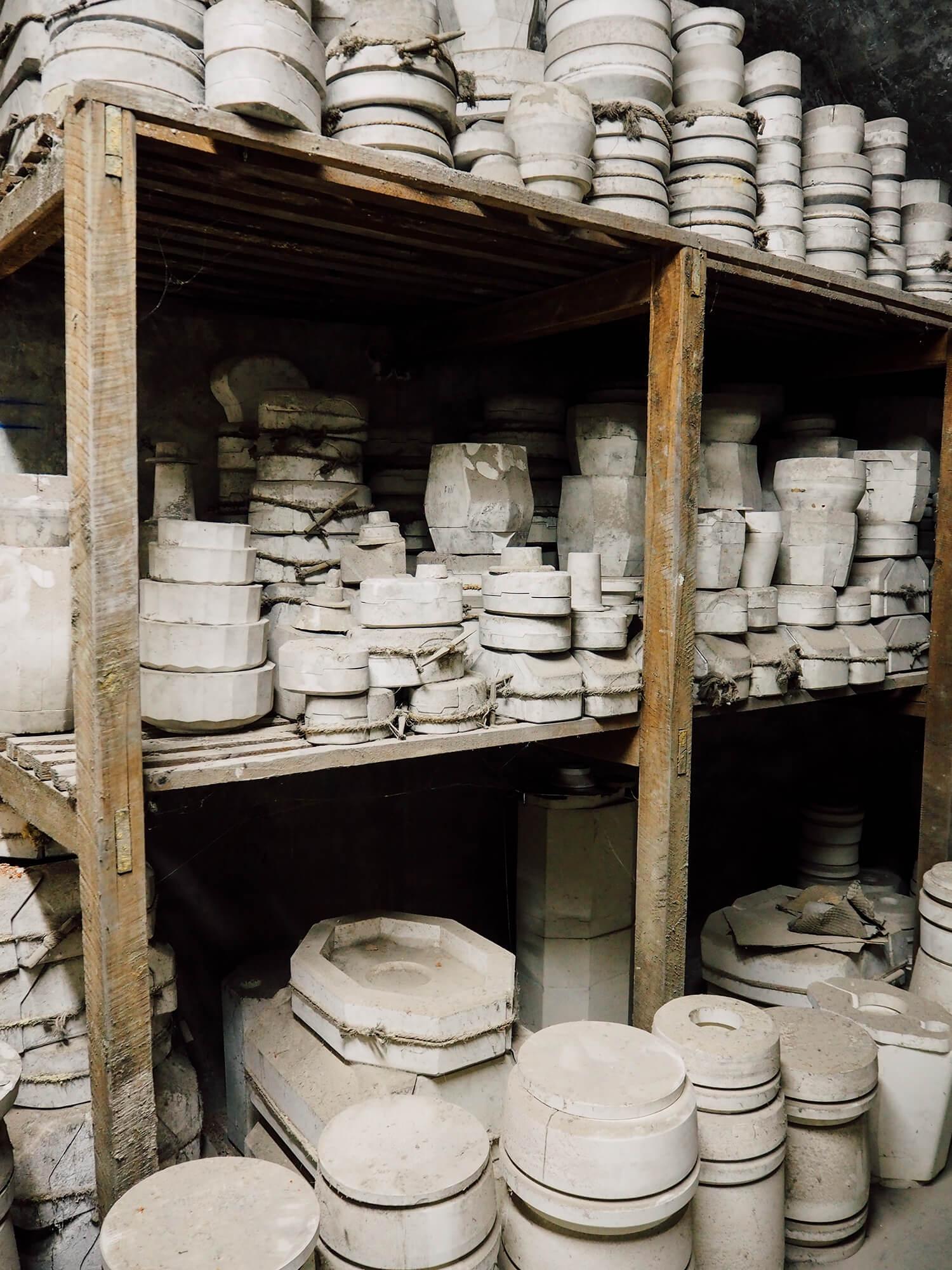 Moule pour objet en porcelaine