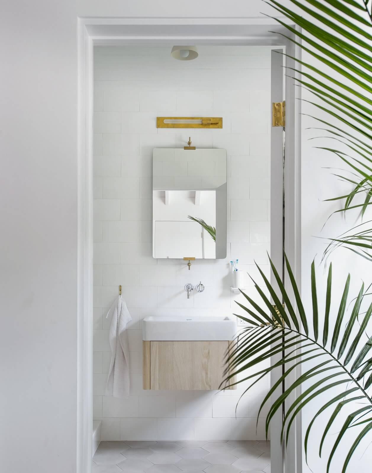 Salle de bain esprit minimaliste