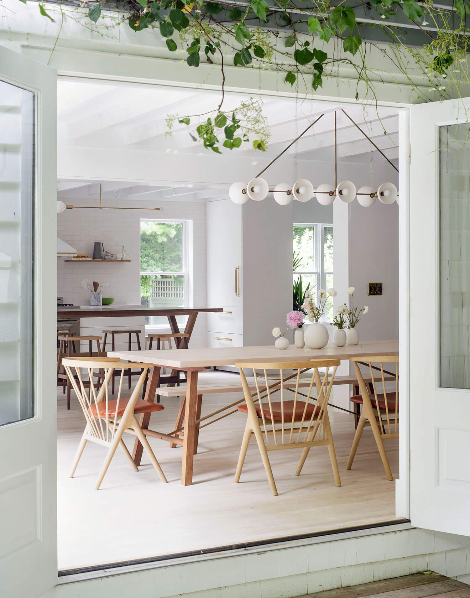 Une maison lumineuse dans les Hamptons