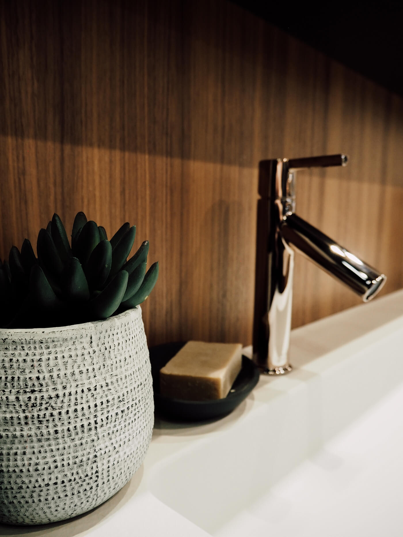 Robinet cuivre salle de bain