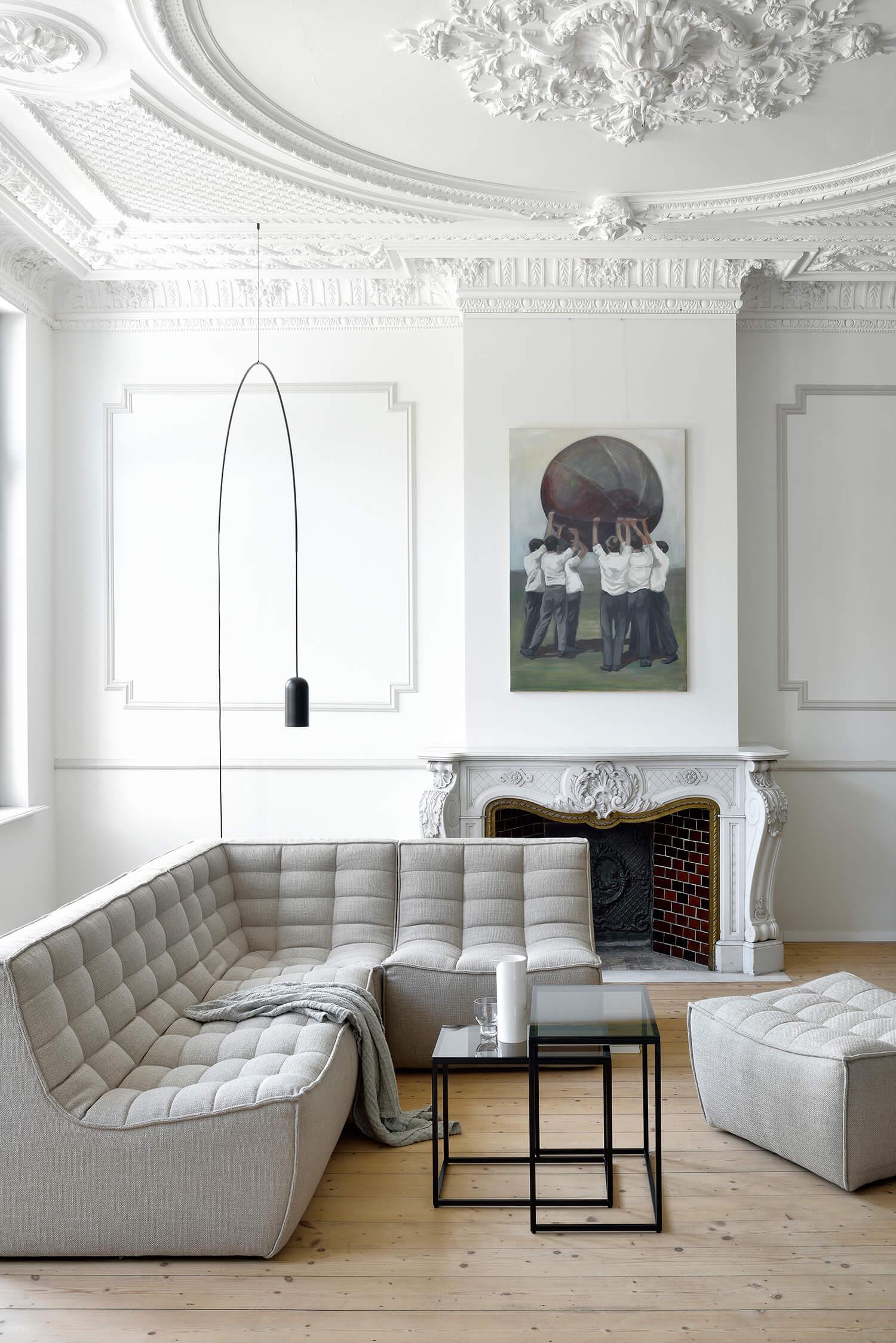 Appartement style Haussmann