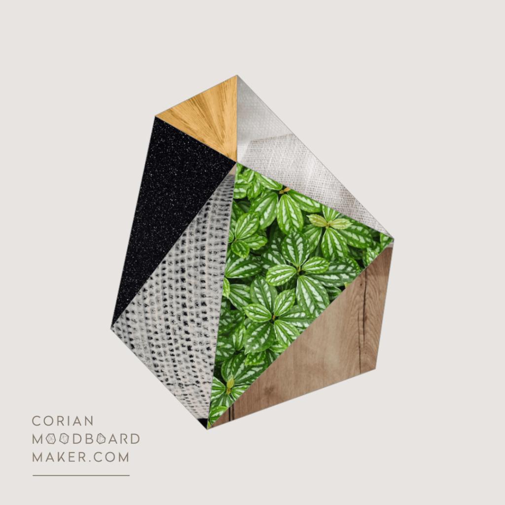 Corian moodboard maker - FrenchyFancy