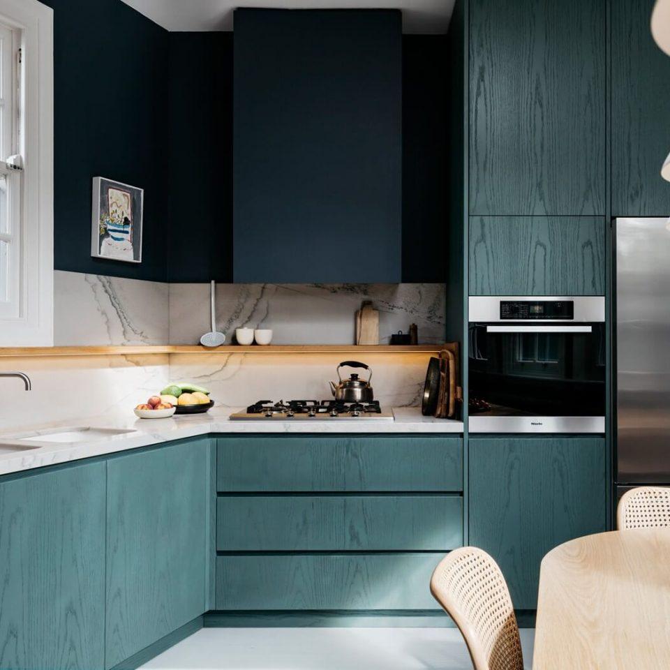 Et pourquoi pas du bleu dans la cuisine ? - FrenchyFancy
