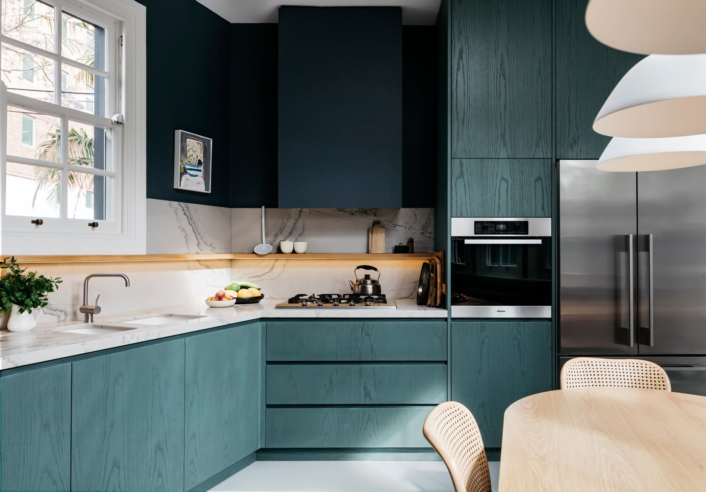 Cuisine Blanche Et Bleu et pourquoi pas du bleu dans la cuisine ? - frenchy fancy