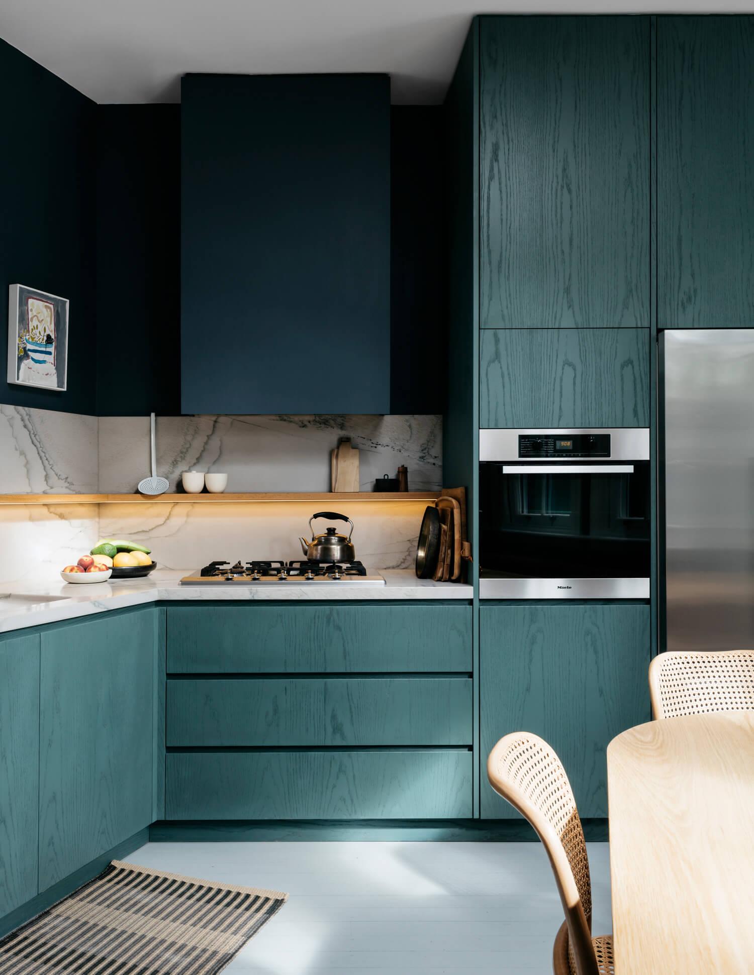 Et pourquoi pas du bleu dans la cuisine ?