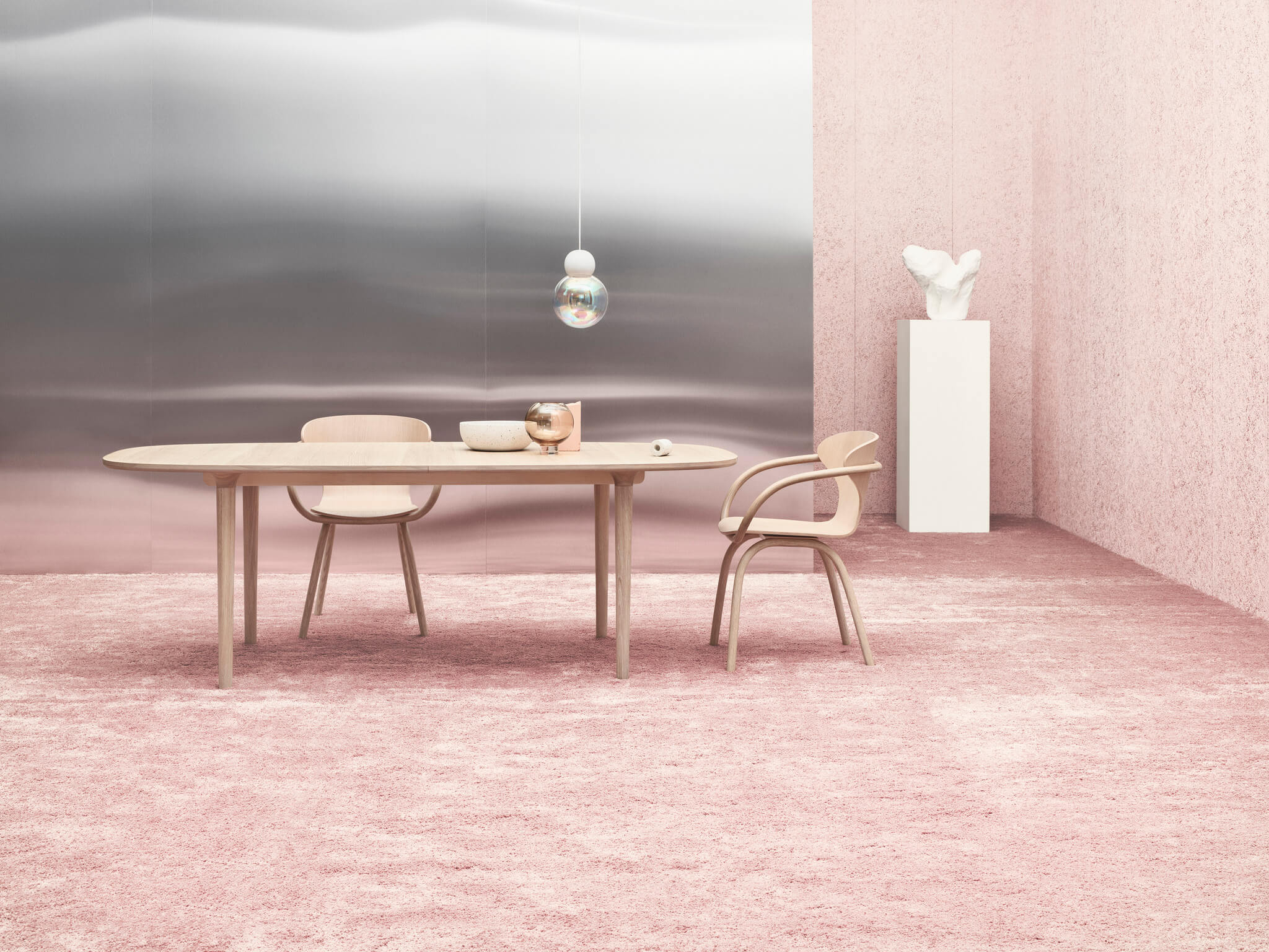 Table de repas scandinave