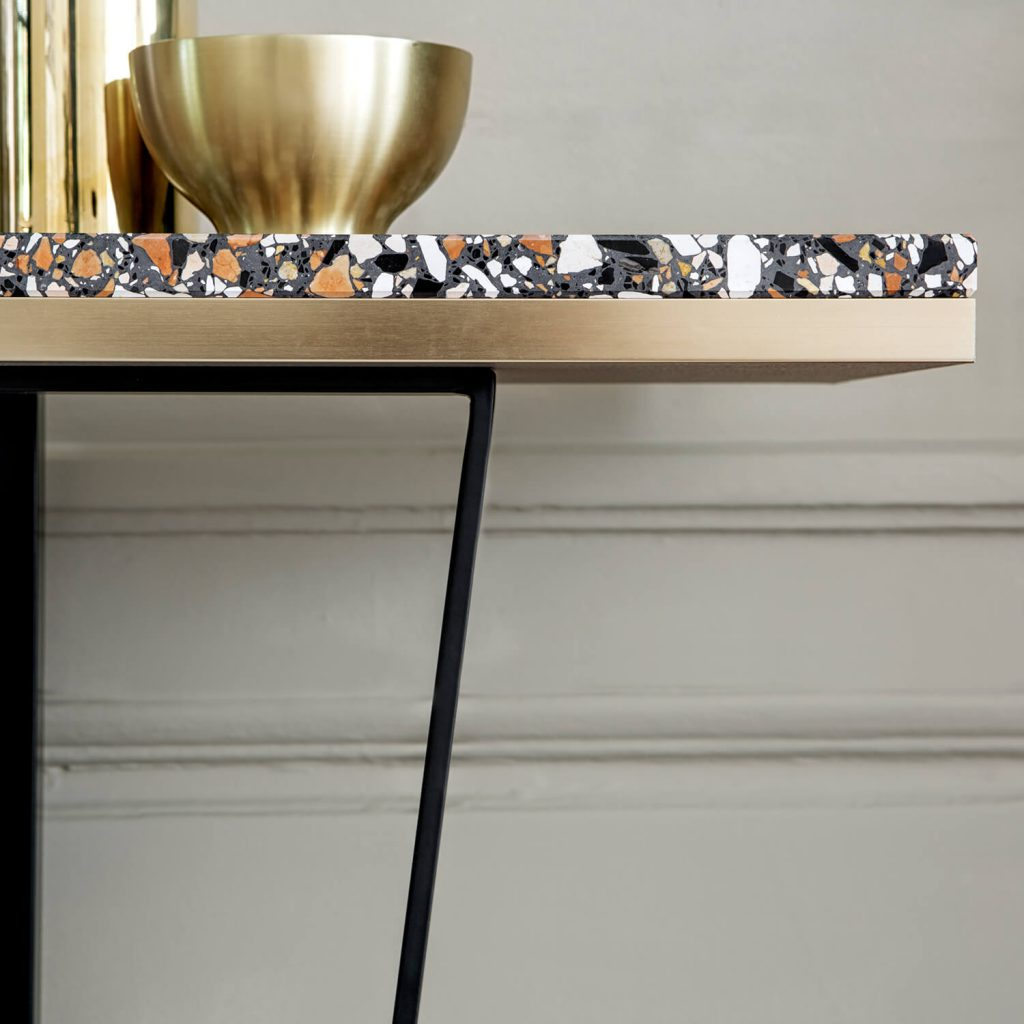 Les consoles Terrazzo par RED Edition - FrenchyFancy