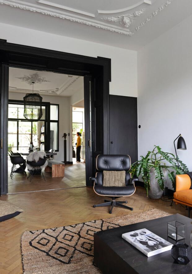 Une maison de ville au style ethnique chic - FrenchyFancy