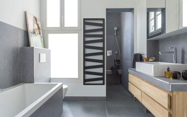 Kazéane, un radiateur sèche-serviettes design pour la salle de bain - FrenchyFancy