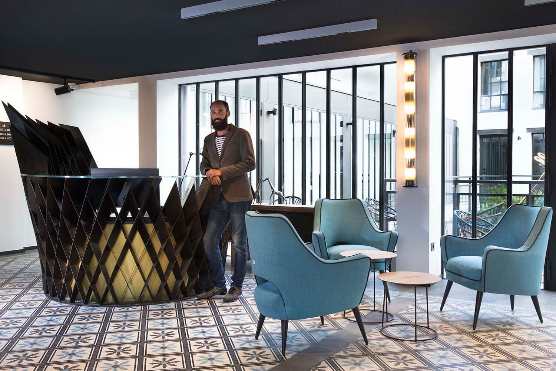 Les Deux Girafes, un hôtel chic et contemporain à Paris