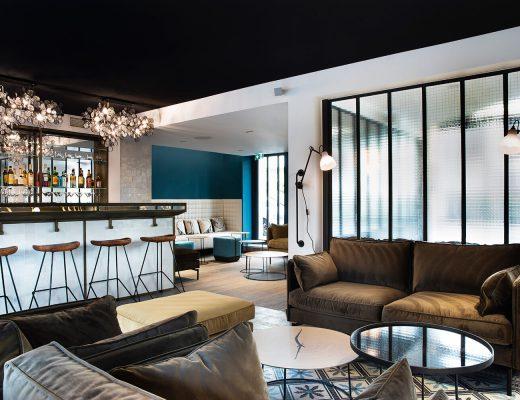 Les Deux Girafes, un hôtel chic et contemporain à Paris - Frenchyfancy