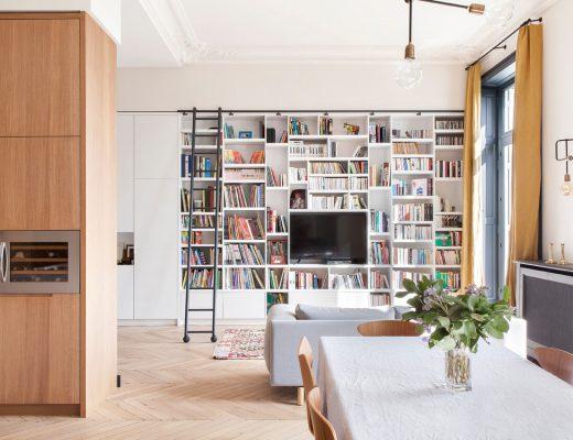 Modernisez le style Haussmannien grâce aux couleurs et aux papiers peints - FrenchyFancy