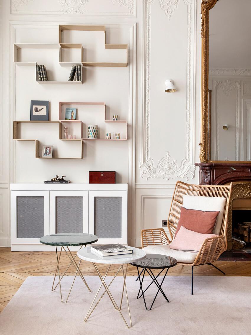 Modernisez Le Style Haussmannien Grace Aux Couleurs Et Aux Papiers