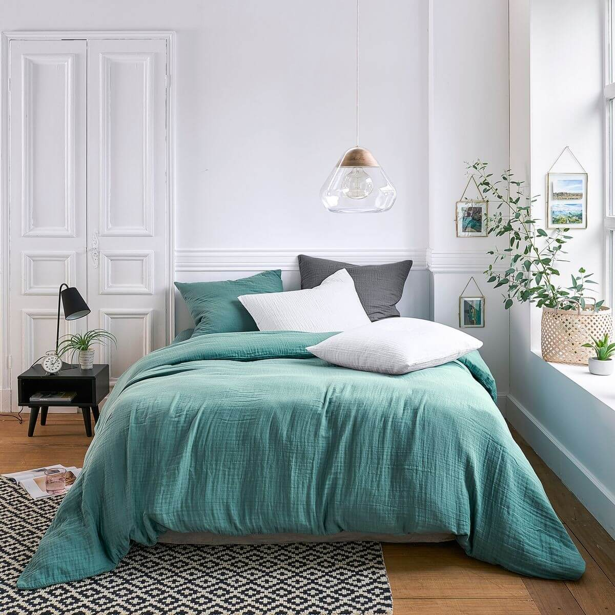 Le linge de lit en gaze de coton, le nouveau must have déco