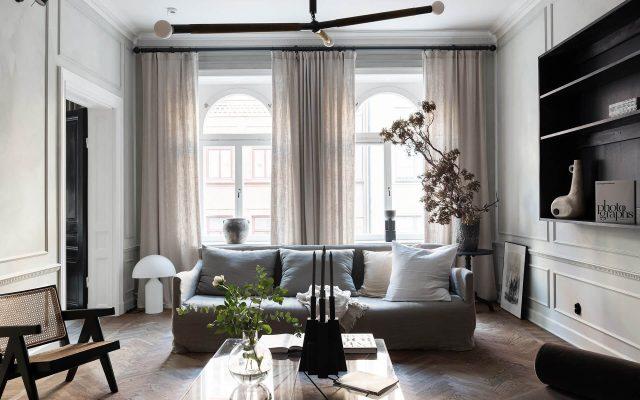 Un appartement empreint d'élégance - FrenchyFancy