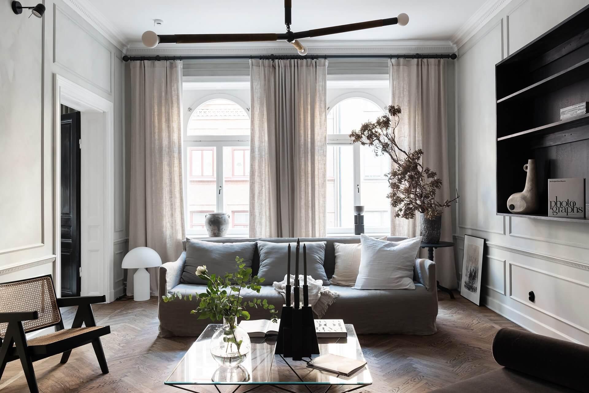 Decoration Appartement Haussmannien un appartement empreint d'élégance - frenchy fancy