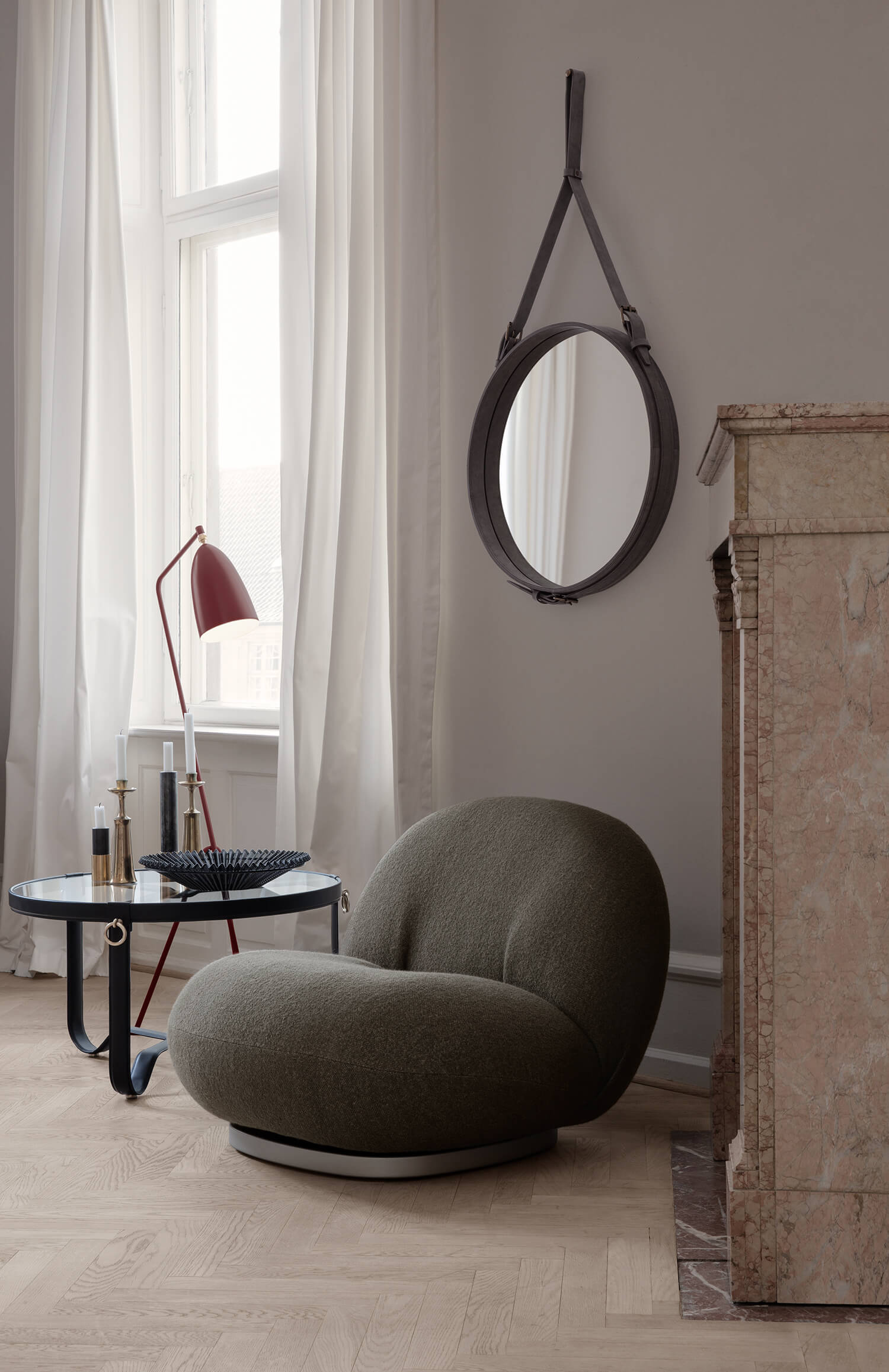 Le fauteuil Pacha par Pierre Paulin